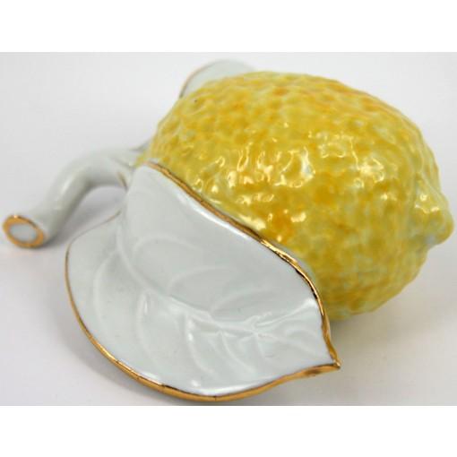 Fruttino limone da collezione in porcellana