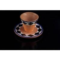 Tazzina a rombi in ceramica
