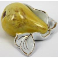 Fruttino pera da collezione in porcellana