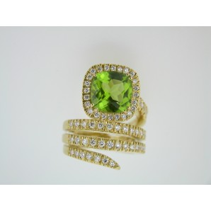 Anello Cocktail Peridoto