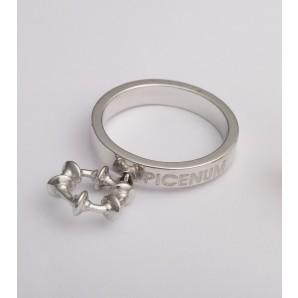Anello donna Picenum in argento