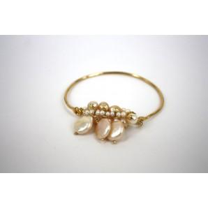 Bracciale in Argento con Perle