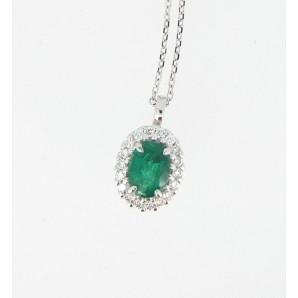 Ciondolo 1211 Smeraldo