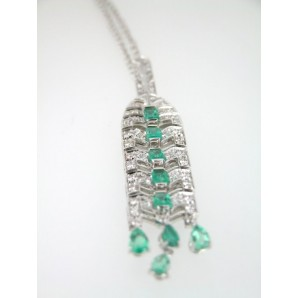 Ciondolo Liberty Smeraldo