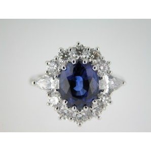 Classic Ring Blue Sapphire